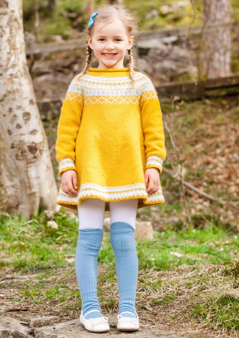Gudrun genser og lue str 34 år