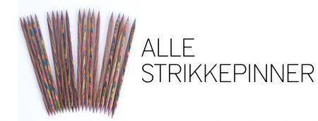 Alle strikkepinner