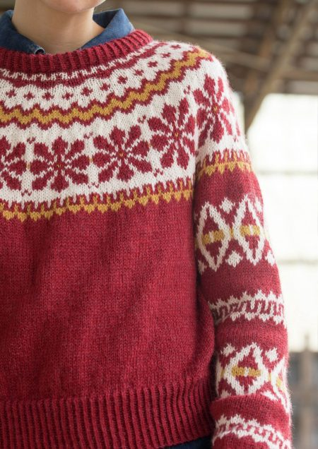 Aase kort genser