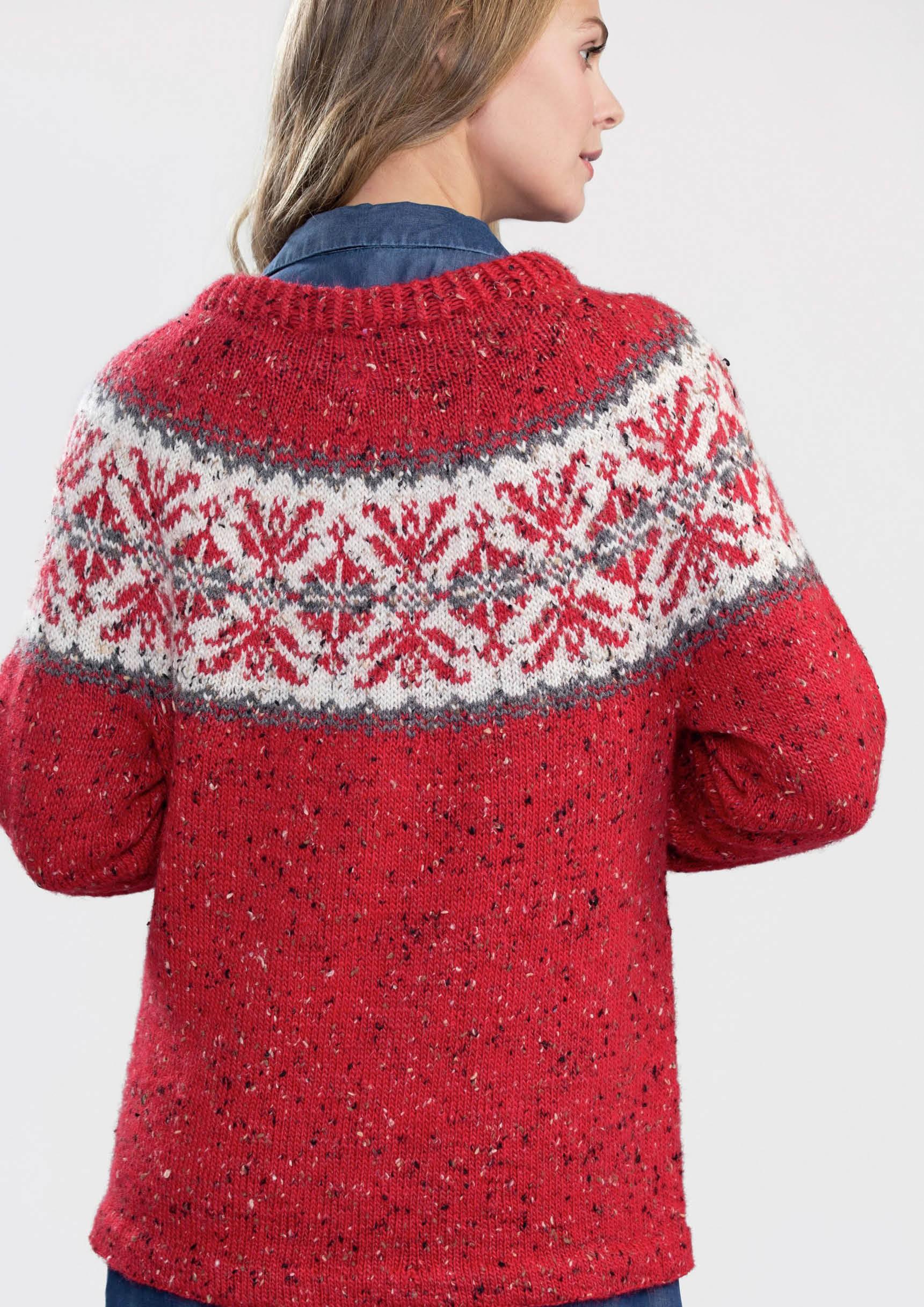 DSA74 04 Maria genser rød | Du Store Alpakka i 2020